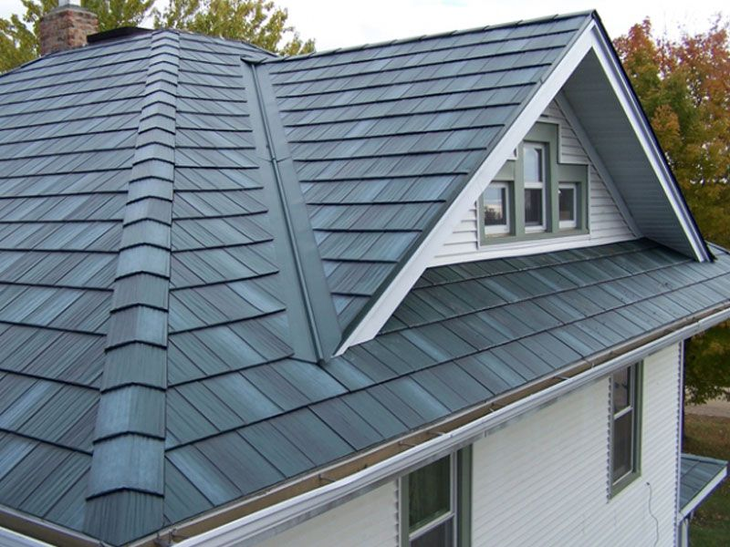 new metal roof picture