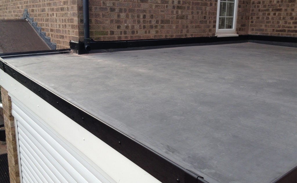 new flat roof picture